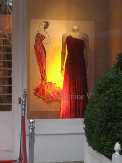 Catherine Walker Window Display