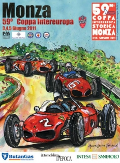 The official 2011 poster for the Monza Coppa Intereuropa